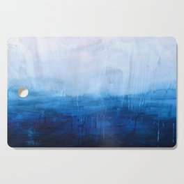 All good things are wild and free - Ocean Ombre Painting Cutting Board