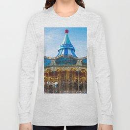 Carousel Pier 39 San Francisco Long Sleeve T-shirt