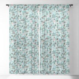 Mushrooms Sheer Curtain