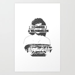Dirty Dancing WTRMELON Art Print