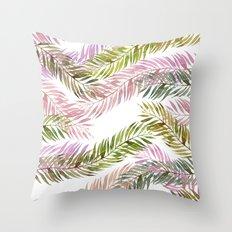 tropical florest Throw Pillow