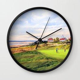 Royal Liverpool Golf Course Hoylake Wall Clock