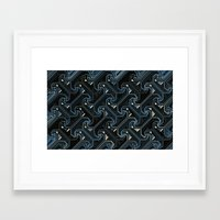 industrial Framed Art Prints featuring Industrial by AlexinaRose