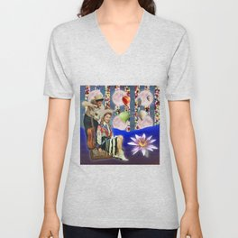 COW BOY AND COW GIRL Unisex V-Neck