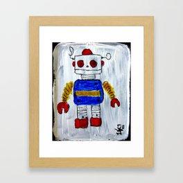 ROBOT 12 Framed Art Print