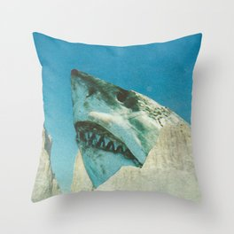 Squali a incastro Throw Pillow