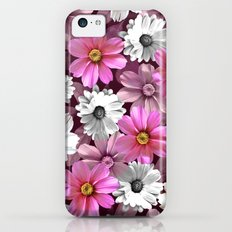 Cosmos and Marigolds iPhone 5c Slim Case