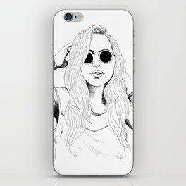 Wild Delilah Super Groupie iPhone Skin