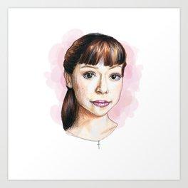 Alison Hendrix Orphan Black Art Print