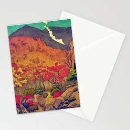 Autumn Baths in Kaanaii Stationery Cards
