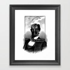 CATMAN Framed Art Print