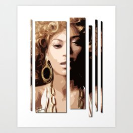 Knowles Art Print