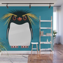 Rockhopper Penguin Wall Mural