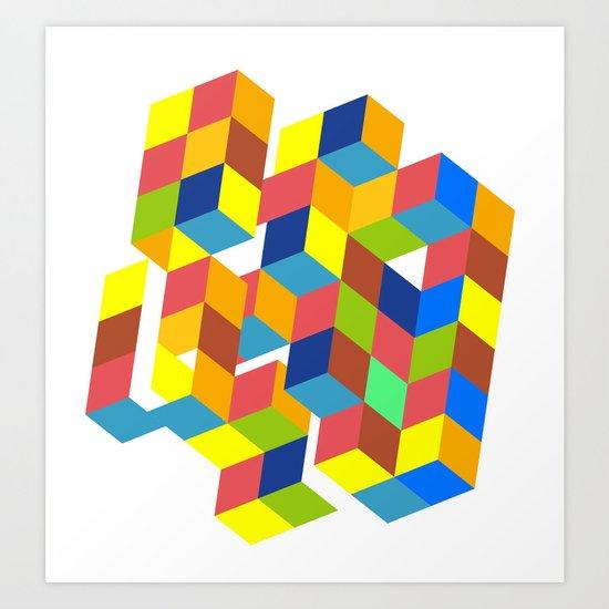 KALEIDOSCOPIC Art Print