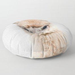 Alpaca - Colorful Floor Pillow