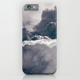 Heavy Thunder Clouds - Spectacular Aerial Photography iPhone Case