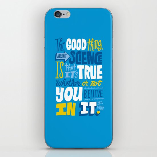 The Good Thing About Science iPhone Skin
