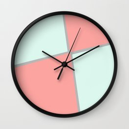 Strawberry meringue Wall Clock