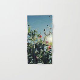 poppy flower no14 Hand & Bath Towel