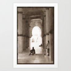 Mosque 2 Art Print