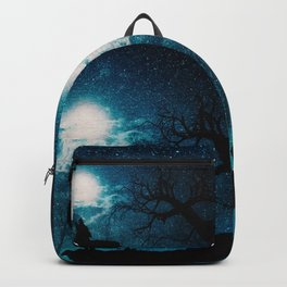 howling at the moon Backpack
