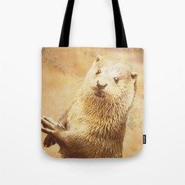 Vintage Animals - Otter Tote Bag