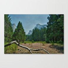 Yosemite-Half Dome Canvas Print