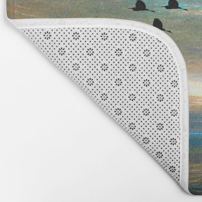 Sunset in the Refuge Bath Mat