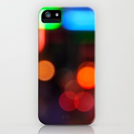 Night Light Colors iPhone Case