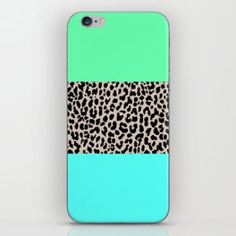 Leopard National Flag XIV iPhone Skin
