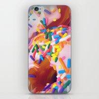sprinkles iPhone & iPod Skins featuring Sprinkles by ShannonPosedenti