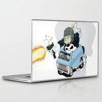 punisher Laptop & iPad Skins featuring The Punisher War Wagon by B-town aka Guerilla