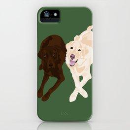 Labradors iPhone Case