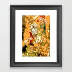 A Touch of Africa Framed Art Print