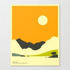 ROCKY MOUNTAIN NATIONAL PARK, BEAR LAKE Canvas Print