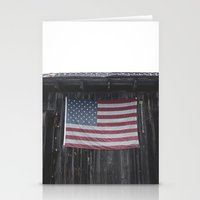 american flag Stationery Cards featuring American flag by Dillonmakar