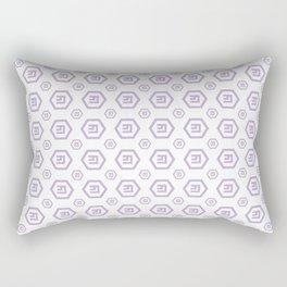 Emercoin (Emc) - Crypto Fashion Art (Small) Rectangular Pillow