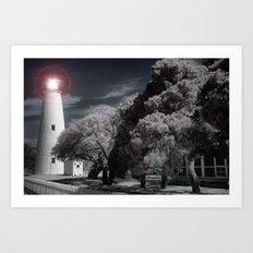 The Night Light Art Print