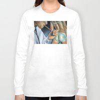 butt Long Sleeve T-shirts featuring CIGAR BUTT by John McGlynn