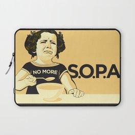 No More SOPA! Laptop Sleeve