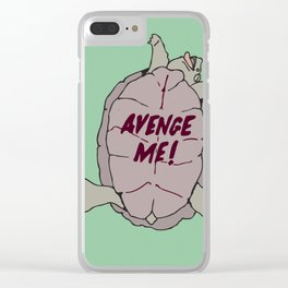AVENGE ME! Clear iPhone Case