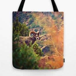 Bighorn Tote Bag