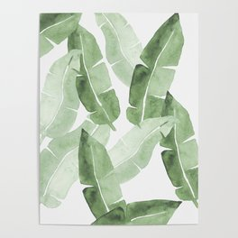 Tropical Leaves 2 Poster