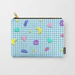 Confetti Grid Carry-All Pouch