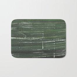 Kombu green abstract watercolor background Bath Mat