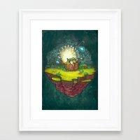 zelda Framed Art Prints featuring Zelda by Ronan Lynam
