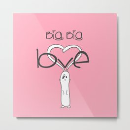Big, big LOVE Metal Print