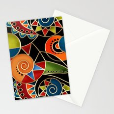 Abstraction - Carnival Stationery Cards