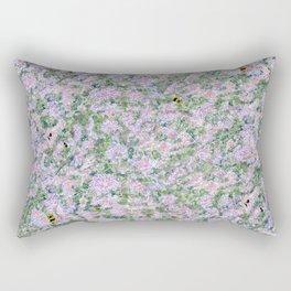 Bees Love Lavender Rectangular Pillow