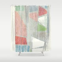 titan Shower Curtains featuring Titan - Cryo by Fernando Vieira